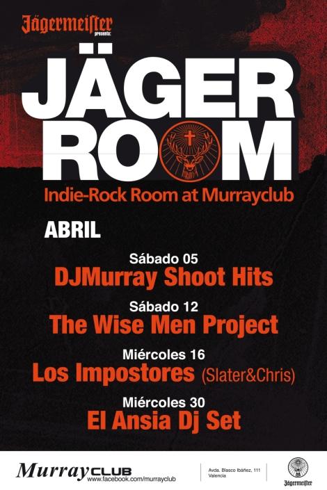 jÄgerroom murrayclub valencia discoteca abril