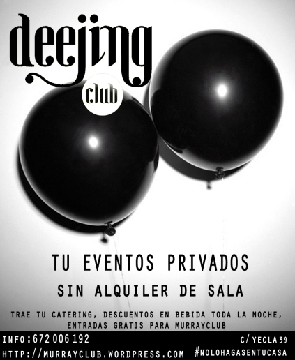 eventos deejing club murray club