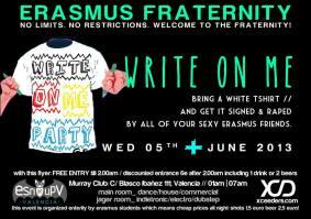 erasmus fraternity