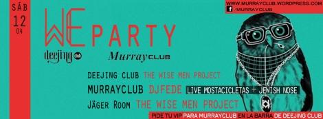 sábado 12 murrayclub