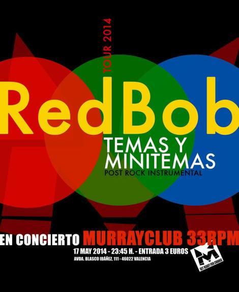 Red bobo concierto murray