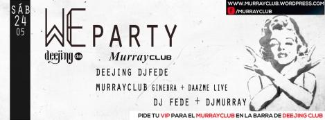 we party 24.05 murrayclub