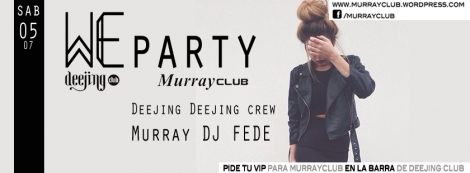 We party murray sáb 0207