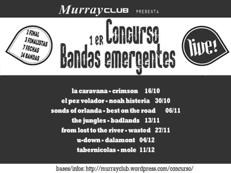 calendario concurso murray