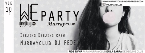 We party murray 10.10