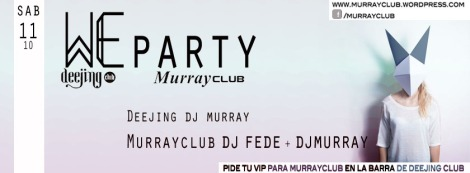 We party murray 11.10
