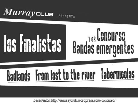 finalistas concurso bandas emergentes de murrayclub
