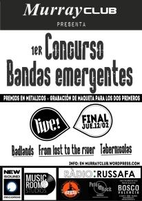 final concurso bandas emergentes de murrayclub