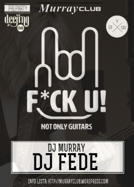 DJ fede fuck u