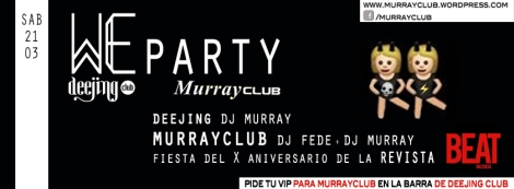 We party murray2103