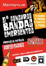 cartel 2º concurso de bandas murrayclub